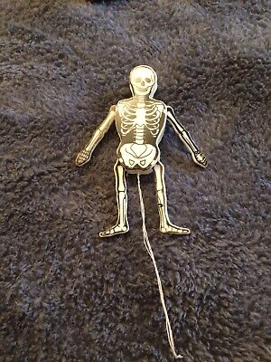 Vintage SKELETON pin movable Vintage 1990s spearhead Inc preowned