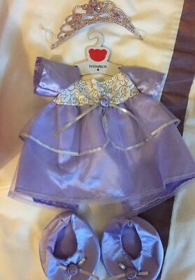 Design A Bear - Three Immaculate Dress Outfits - Used Once