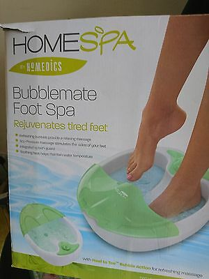 Homespa Medics Bubblemate foot spa