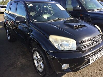 2004 Toyota Rav4 2.0 D-4D Xt4 **1 Owner** Spares Or Repair, Clutch Slips Drives