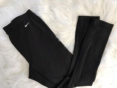 Nike Womens Alpha Project Black Full Length Running Pants Fitted XL