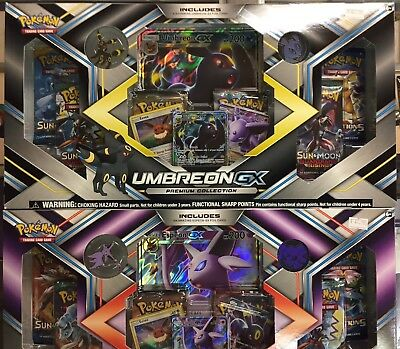 Pokemon Umbreon & Espeon GX Premium Collection Set