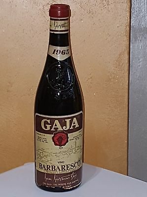 Barbaresco Gaja 1965