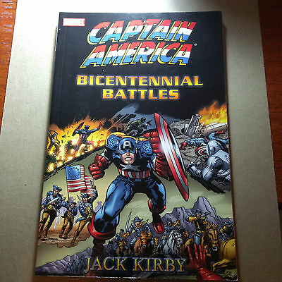 Captain America By Jack Kirby: Bicentennial Battles Tpb Nm- Marvel