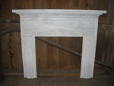 Antique fireplace mantel & surround - Mid 19th. century architectural salvage.