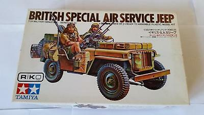 Tamiya M133-350 No.33 British Special Air Service Jeep 1:35 Infantry Vehicle