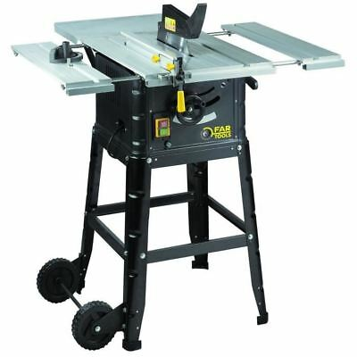 FARTOOLS Scie de table 1800W 250mm 36 dents