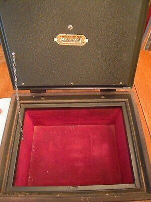 Vintage Meilink Lined 1 hour fire tested steel Safe over 100 years old