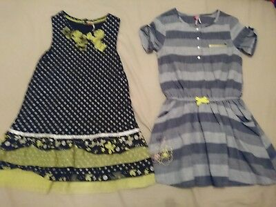 Lot de 2 robes maqrues Orchestra taille 8 ans