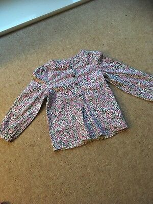 Joules Girls Blouse Age 4