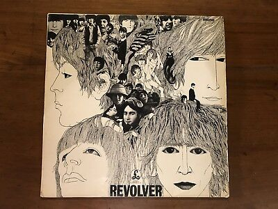 The Beatles Revolver LP First Press PMC 7009