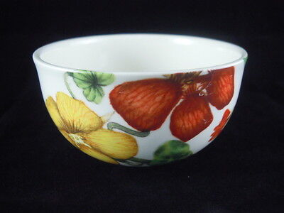 Poole Pottery Sugar Bowl Nasturtium Design *rare*