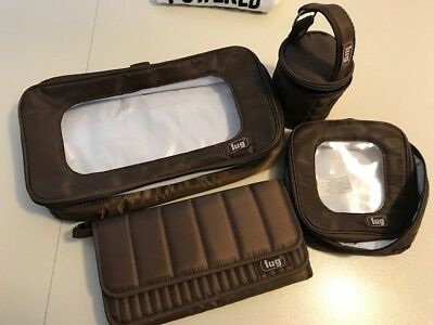 LUG Travel Bag Set of 4 - New Without Tags - BROWN