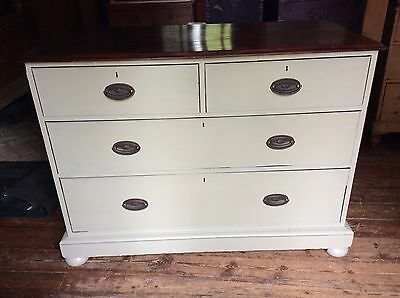 Old Painted Chest Of Drawers