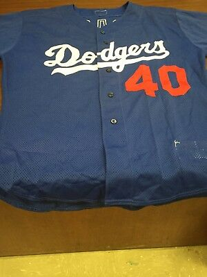 Onan Masaoka Los Angeles Dodgers Authentic Batting practice jersey, Size 48,2000