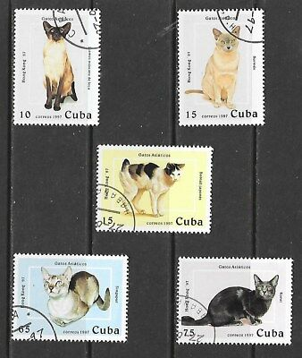 1997 full set of 5 stamps for Hong Kong 97 International Stamp Exhibition CTO