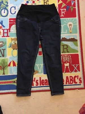 Over Bump Maternity Jeans Size 18