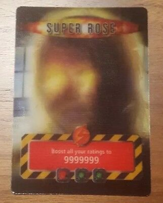 Super Rose Doctor Who Trading Card: Very Rare
