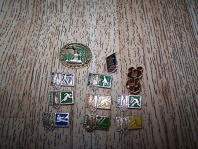 Original Russian Badges - Moscow Olympics 1980 - Events -