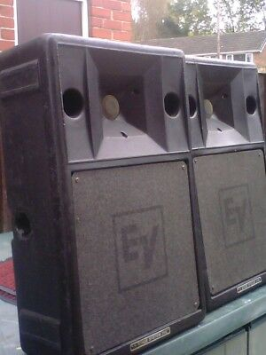 Electrovoice S2000 P.A. Speakers. 1 pair.