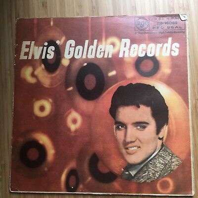Elvis Presley 'Golden Records' Vinyl LP With Pull Out Imagery