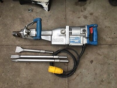 110v Kango 950 breaker/hammerdrill serviced,GWO new chisels great condition