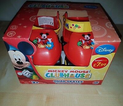 Disney Mickey Mouse Clubhouse Junior Quad Adjustable Skate Roller