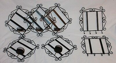 """Lot Of Metal Holders For 6"""" Sublimation Tiles"""