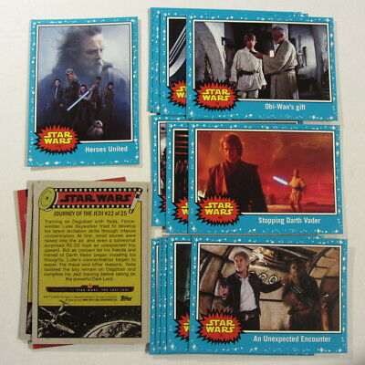 STAR WARS : Journey to The Last Jedi movie trading cards - Hobby Edition, 2017