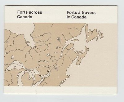 Canada Mint Stamps - MNH - Forts Across Canada Booklet - Second Booklet