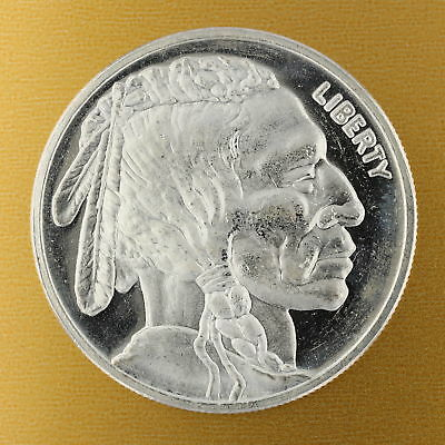 Indian Head Buffalo 1 Ounce .999 Silver Round Coin 1oz