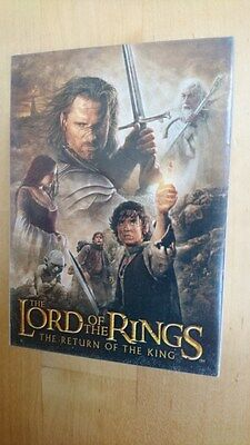 Lord of the Rings Trading Cards Return of the King Complete Set.Mint Condition.