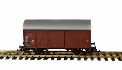 PIKO COVERED GOODS WAGON G Scale, Surrounding Through Zenner on Gauge 2, 1:28