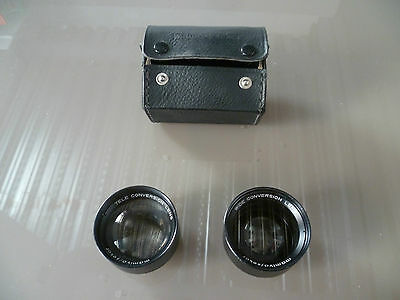 Mamiya Sekor / Wide & Tele Conversion Lens / Tl Dtl Lenses
