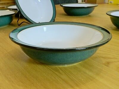 Denby Greenwich Soup/Cereals Bowls 18cmx5cm 1-7 available - V Good Condition