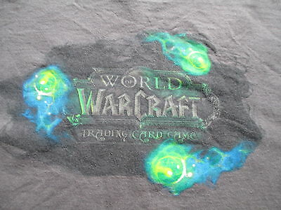 World Of Warcraft Trading Card Game TCG Gray Green T Shirt L Large XL X-Large