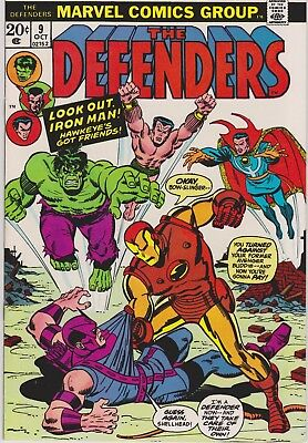 Defenders 9  VF/NM    cents issue