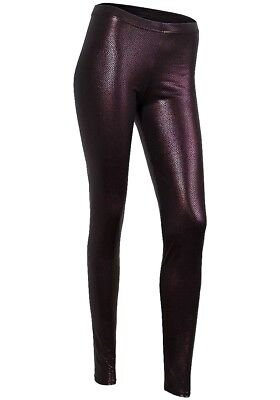 Damen Sexy Schlange Reptil Python Leggings  Leggins Animal Print Glanzleggings
