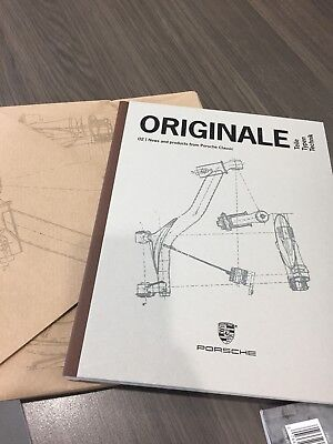 New 2017 Porsche Classic Originale Vol. 2 Factory Hard Cover Catalog  911 356