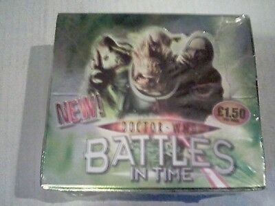 Doctor who battles in time invader trading cards sealed box