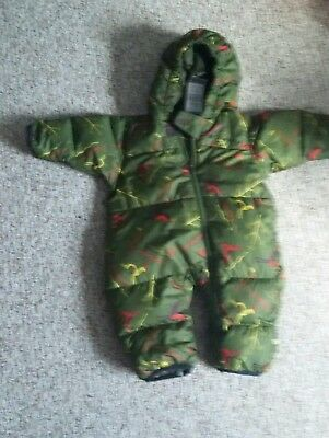 Columbia 6 month boy down Snowsuit - used