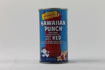 Vintage Hawaiian Punch Can Pop Steel Great Condition