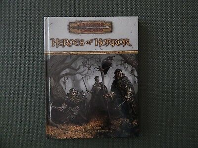 Dungeons & Dragons - Heroes of Horror - Hardcover - 2005 - v.3.5