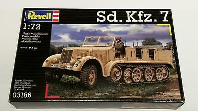 Revell 03186 SdKfz 7 German Half Track Troop Carrier Wehrmacht Truppentransport