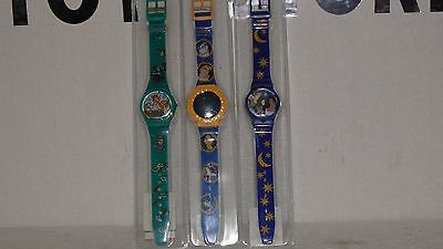 Disney Watches, Pocahontas,hunch Back Of Notre Dame, Bambi.