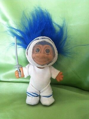 Troll Russ Doll Fencing Sword Troll Vintage Rare Collectable