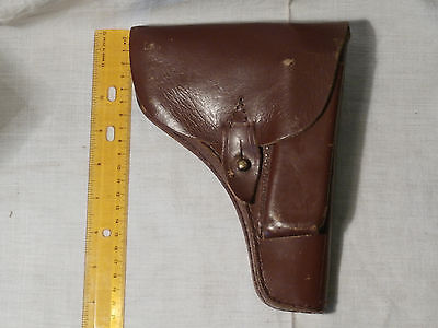 M70A 9 mm YUGOSLAVIA JNA ARMY leather HOLSTER PISTOL GUN CASE MILITARY rare