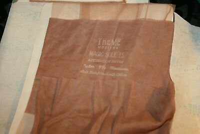 Vintage Stockings 3 pr Lot Theme Hosiery (Item#794)