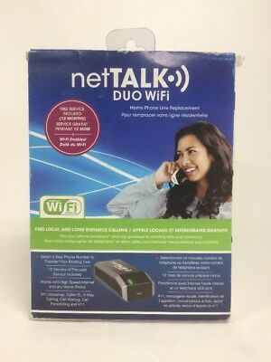 netTALK DUO WiFi VoIP Phone and Device