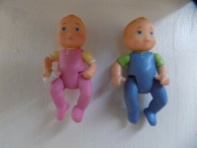 Fisher Price Loving Family Baby Twins EUC